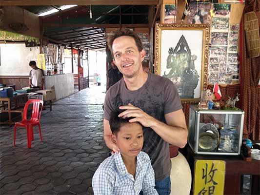 Chiropractor Atascadero CA Dr. Darren Hart Global Adjustment - Cambodian Orphanage