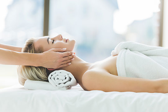 Massage Therapy Atascadero CA Woman Relaxing